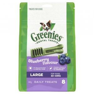 Greenies  Blueberry Dental Chews - Large 340gm