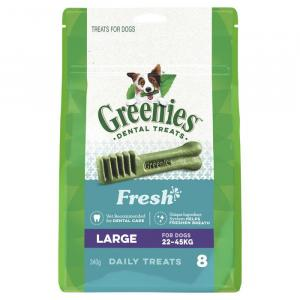 Greenies  Freshmint Dental Chews - Large 340gm