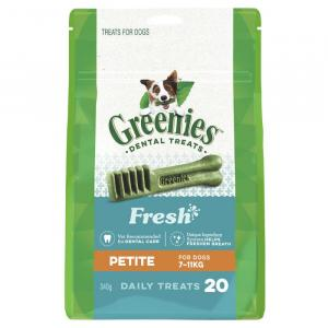 Greenies  Freshmint Dental Chews - Petite 340gm