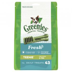 Greenies  Freshmint Dental Chews - Teenie 340gm
