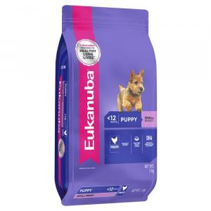Eukanuba  Small Breed Puppy Chicken Dry Dog Food