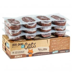 Big Dog Kangaroo Frozen Cat Food 1.38kg