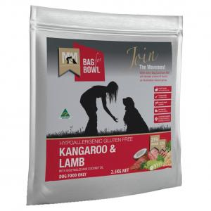 MEALS FOR MUTTS  Dog Kangaroo & Lamb 2.5kg