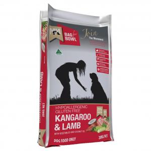 MEALS FOR MUTTS  Dog Kangaroo & Lamb 20kg