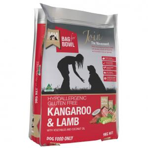 MEALS FOR MUTTS  Dog Kangaroo & Lamb 9kg