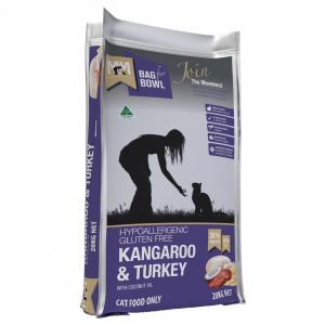 MEALS FOR MUTTS Meals For Meows Cat Kangaroo & Turkey 20kg