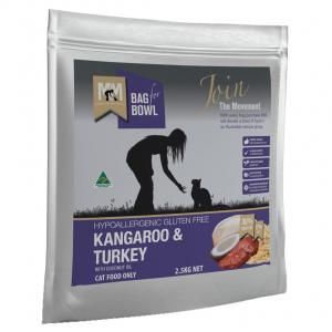 MEALS FOR MUTTS Meals For Meows Cat Kangaroo & Turkey 2.5kg