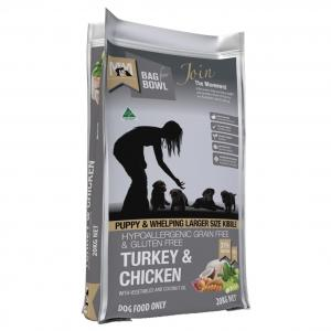 MEALS FOR MUTTS  Puppy Grain Free Turkey & Chicken Large Kibble 20kg