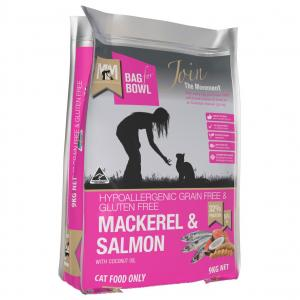 MEALS FOR MUTTS Meals For Meows Cat Mackerel & Salmon Grain Free 9kg