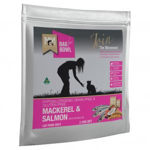 MEALS FOR MUTTS Meals For Meows Cat Mackerel & Salmon Grain Free 2.5kg