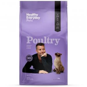 HEALTHY EVERYDAY PETS  Dry Cat Food Poultry 1.5kg