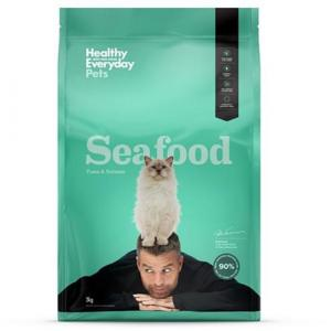 HEALTHY EVERYDAY PETS  Dry Cat Food Seafood 3kg