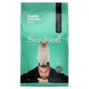 HEALTHY EVERYDAY PETS  Dry Cat Food Seafood 1.5kg