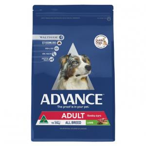 Advance Adult All Breed - Lamb And Rice - Dry Dog Food 3kg