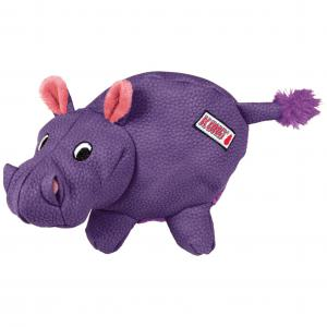 KONG  Phatz Hippo Dog Toy- Medium