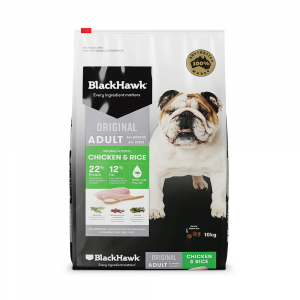 Black Hawk  Chicken And Rice Adult Dry Dog Food 10kg