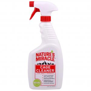 Natures Miracle  Cage Cleaner Small Animal 709ml