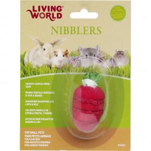 Living World  Wood/loofah Strawberry