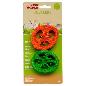 Living World  Crunchy Capsicum Loofa 2 Piece
