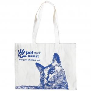 PETSTOCK ASSIST  Calico Tote Bag Cat