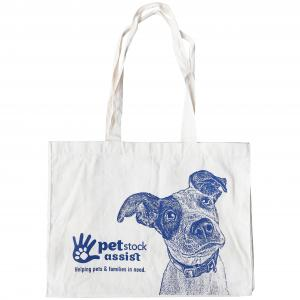 PETSTOCK ASSIST  Calico Tote Bag Dog