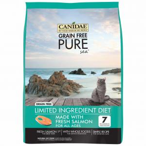 Canidae  Pure Cat Gf Sea With Salmon 4.54kg