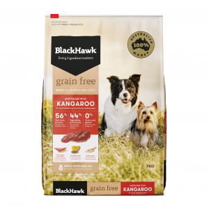 Black Hawk  Grain Free Kangaroo Dry Dog Food 7kg