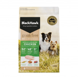Black Hawk  Grain Free Chicken 2.5kg 2.5kg