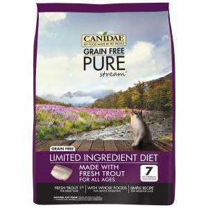 Canidae  Grain Free Pure Stream Adult Cat - Trout 2.27kg