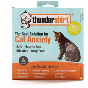 Thundershirt Anti Anxiety Shirt For Cats Large (Weight >6kg)