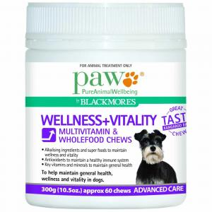 Paw  Wellness & Vitality Multivitamin Chews - 300g