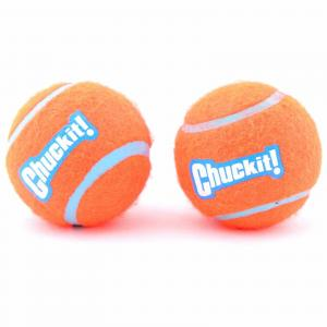 Chuckit Tennis Ball - Dog Toy - 2 Pack Medium