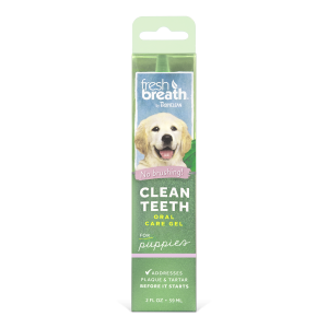 Tropiclean   Fresh Breath Clean Teeth Gel Puppies 59ml