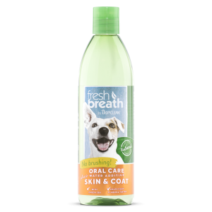 Tropiclean   Fresh Breath Water+ Plus Skin & Coat
