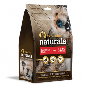 Evolution Naturals Kangaroo Filler Dog Treats 200G