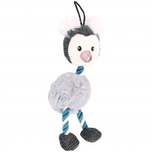 Bark-a-boo  Arctic Mini Penguin Long Rope Neck
