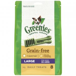 Greenies  Grain Free Treat-pak Large (340g)