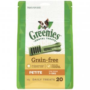 Greenies  Grain Free Treat-pak Petite (340g)