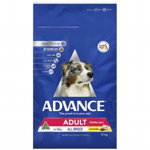 Advance Adult All Breed - Chicken - Dry Dog Food 15kg