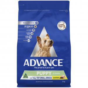 Advance - Puppy Plus Toy and Small Breed - Chicken - Dry Puppy Food
