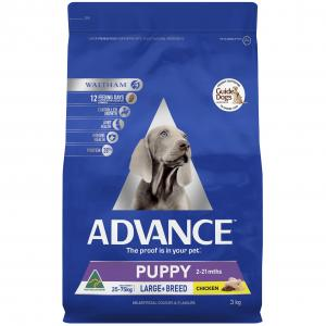 Advance Puppy Plus Large Breed - Chicken - Dry Puppy Food 3kg