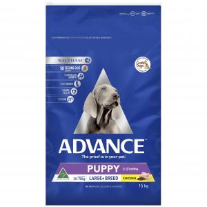 Advance Puppy Plus Large Breed - Chicken - Dry Puppy Food 15kg