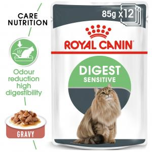 Royal Canin  Digest Sensitive Adult In Gravy - 85gm