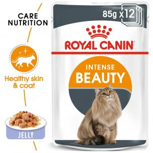 Royal Canin  Intense Beauty In Jelly - 85gm