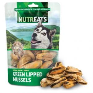NUTREATS  Green Lipped Mussel Dog Treats 50g