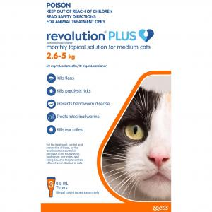 Revolution  Plus Cat 2.5 - 5kg 3 pack