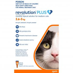 Revolution  Plus Cat 2.5 - 5kg 6 pack