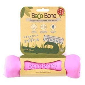 Beco Things Becothings - Bone - Eco Friendly Dog Toy Large