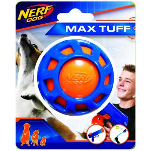 NERF  2.5in Tpr Elite Exo Ball Blue/orange