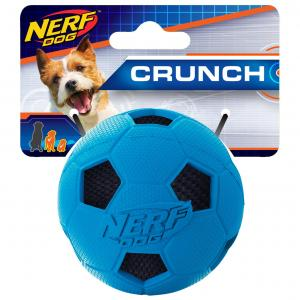 NERF  2.5in Soccer Crunch Ball Blue